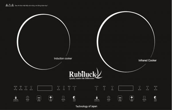 Bếp Từ Và Hồng Ngoại Đôi Rubiluck RB338